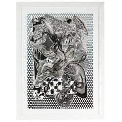 1990s, Signed, Dated and Numbered, Frank Stella Etching