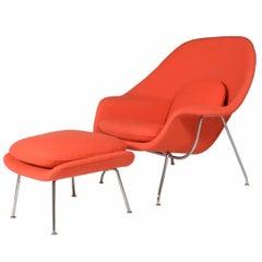 Womb Chair and Ottoman Eero Saarinen for Knoll