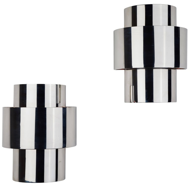 """Pair of """"Love"""" Sconces by Willy Rizzo 1"""