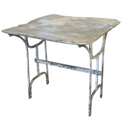 French 19th Century Bistro Table, Garden Table