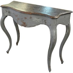 French 19th Century Louis XV Style Console Table