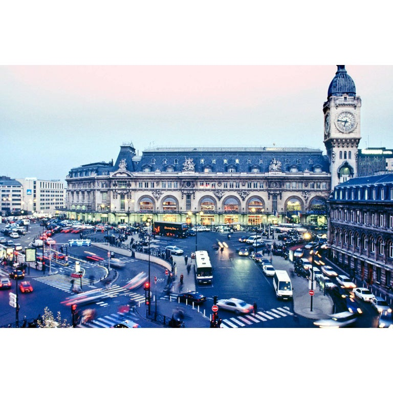 Gare De Lyon, Place Louis-Armand, Paris Color Photography by Gregg Felsen