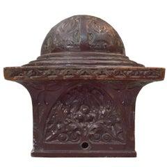 Sullivan Designed Newel Post Cap from Schlesinger and Mayer Department Store