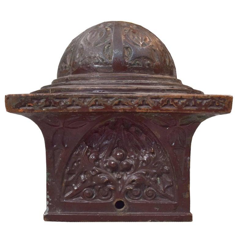 Sullivan Designed Newel Post Cap From Schlesinger And