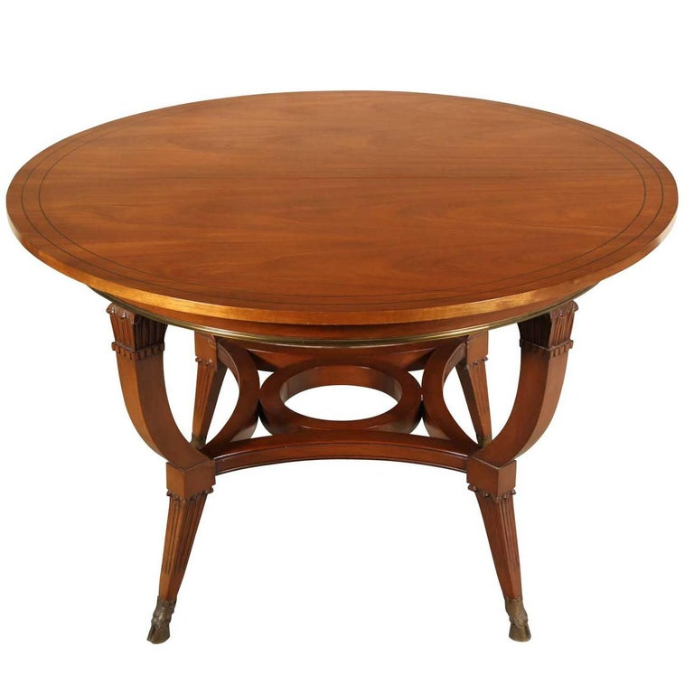 Modern Neoclassical Style Round Dining / Centre Table At