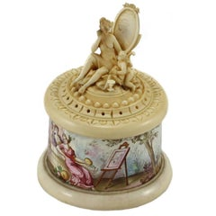 18th Century Austrian Carved Ivory Box