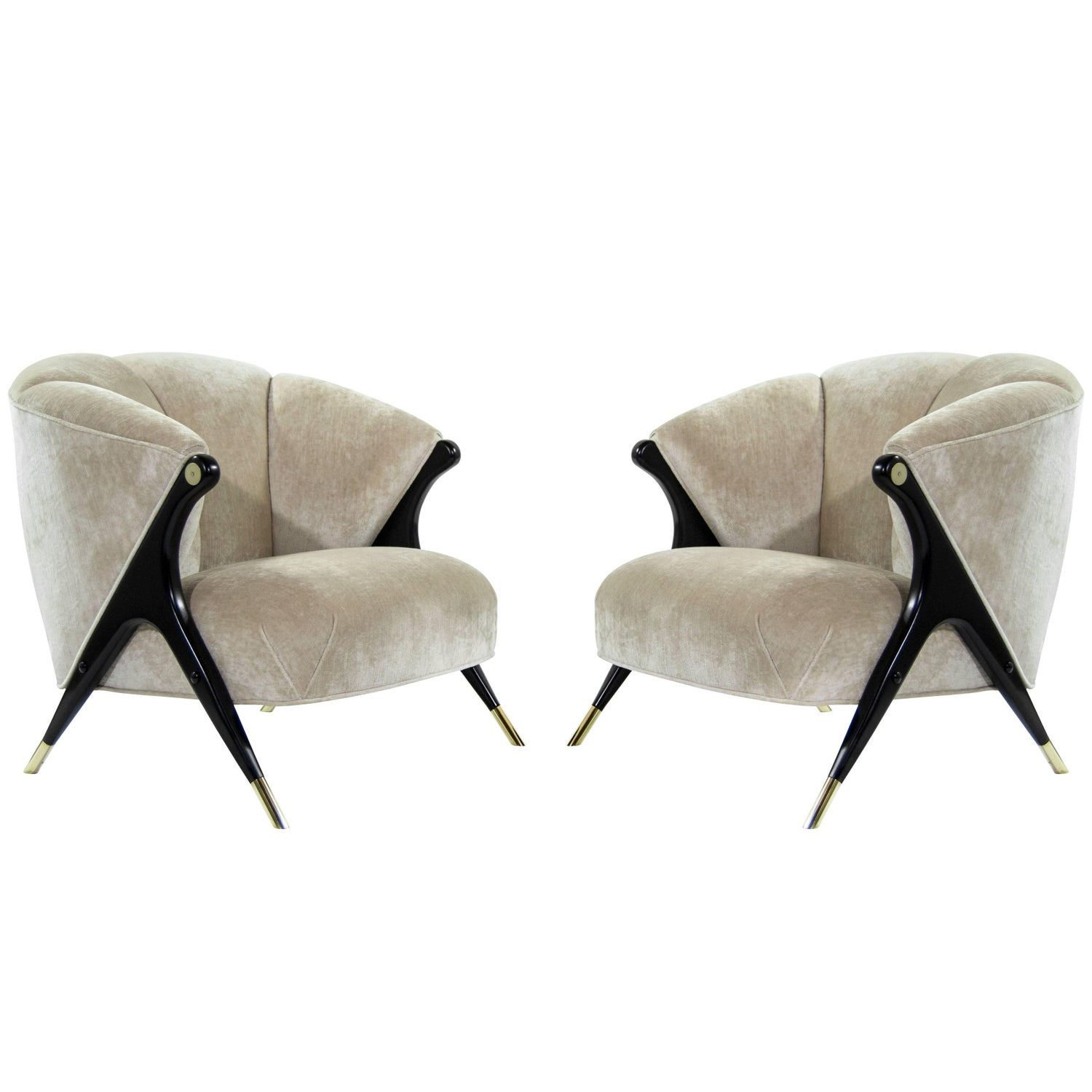 Karpen of California Lounge Chairs 13 For Sale at 1stdibs