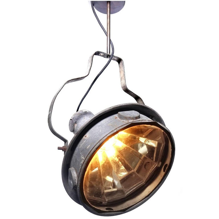 Mesmerizing Mirrored Industrial Articulated Spot Light 1
