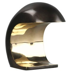 Mini Nautilus Desk Lamp in Bronze by Christopher Kreiling