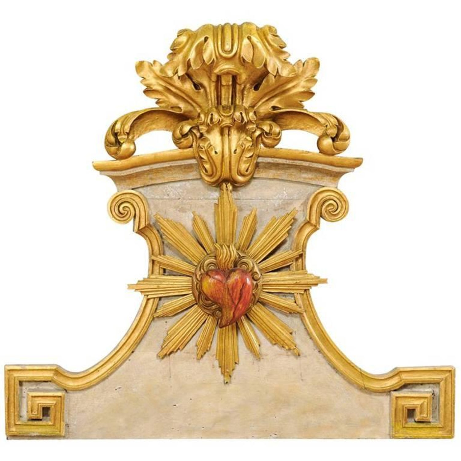 Carved Wood Wall Plaques - 188 For Sale on 1stdibs