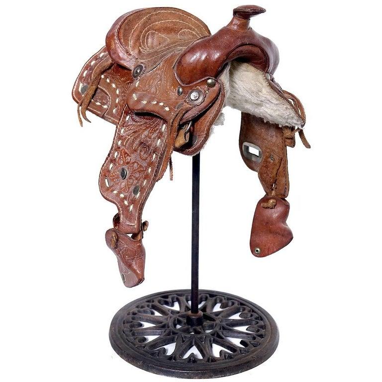 Salesmans Sample of Western Saddle