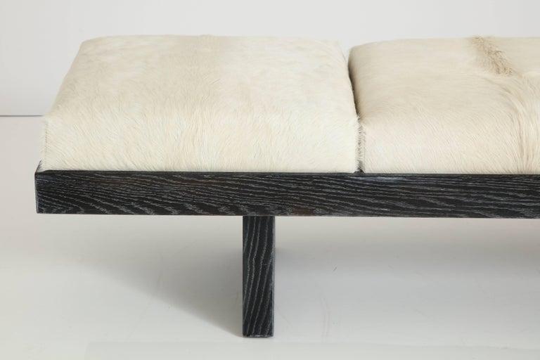 Mid-Century Modern Harvey Probber Cerused Oak Bench For Sale