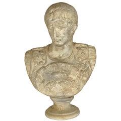 Augustus Caesar Neoclassical Bust Composite Large