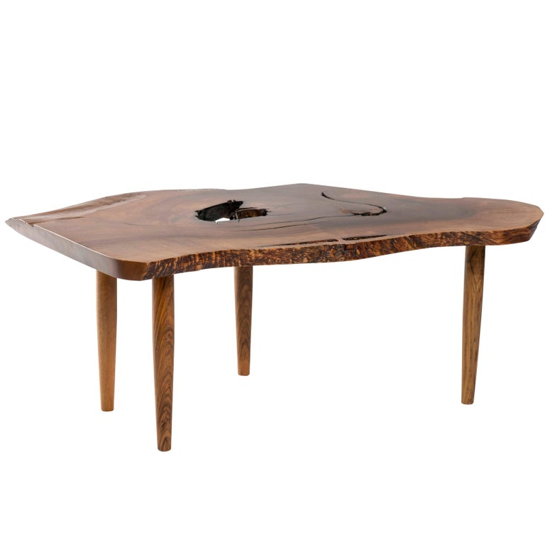 George Nakashima Coffee/Side Table, 1960s For Sale