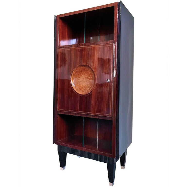 Italian Mid-Century Rosewood Secretaire attributed to Paolo Buffa, 1950s