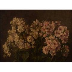 Danish Flower Painter Early 20th Century, Flowers, Oil on Board
