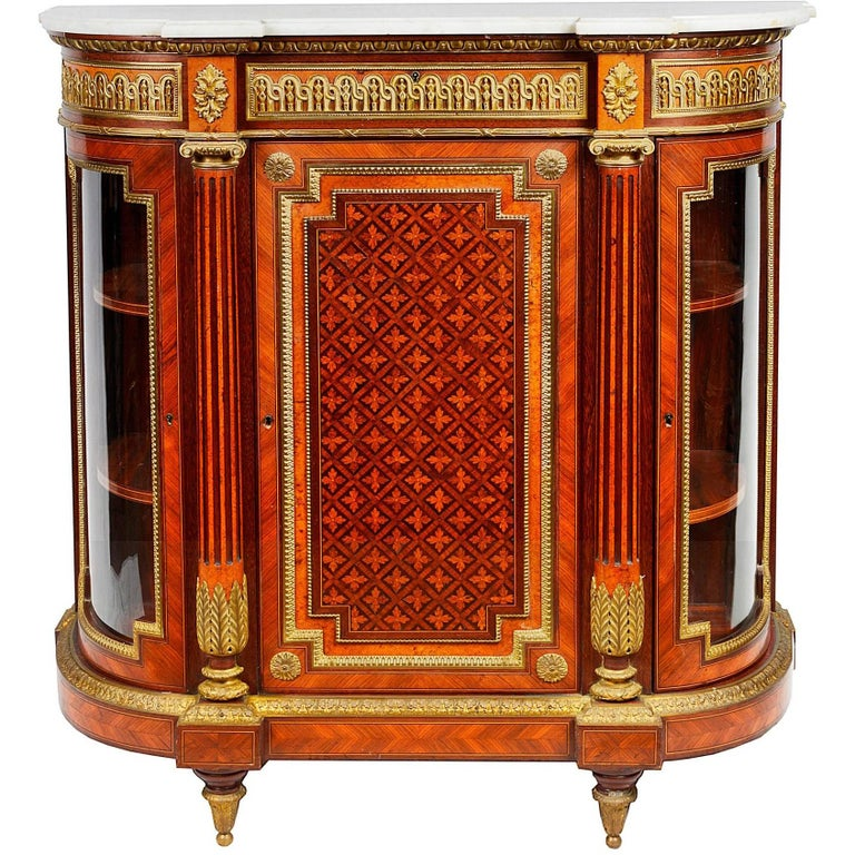 19th Century, Louis XVI Style Side Cabinet