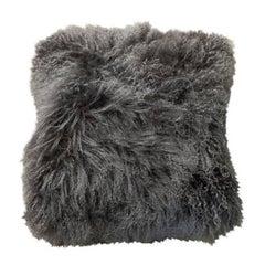 Tibet Lambskin Grey Pillows