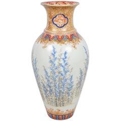 Fine Japanese Fukagawa Vase