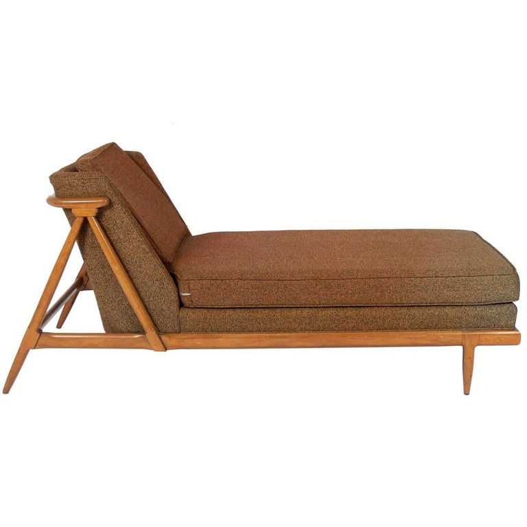 Curvaceous Chaise Lounge Designed by Lubberts and Mulder for Tomlinson For Sale