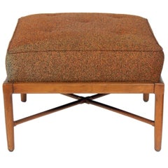 Large-Scale X-Based Ottoman or Stool by Lubberts and Mulder for Tomlinson