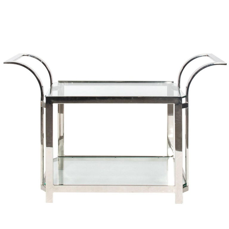 Chrome Bar Cart