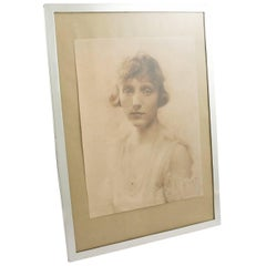 1910s Sterling Silver Photograph Frame