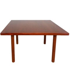 Teak Coffee or Side Table by Hans J. Wegner for Andreas Tuck