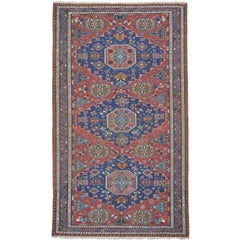 Antique Caucasian Sumak Rug
