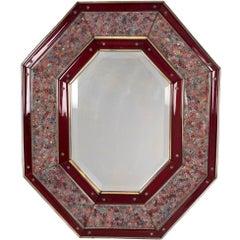 Paolo Venini Millefiori Wall Mirror Model 241.2, 1969