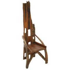 Sculptural Shape Chair