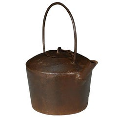 Chinese Cast Iron Tea Pot
