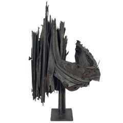 Mid Century Brutalist Sculpture
