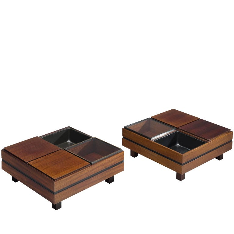 Pair of Italian Sormani Coffee Tables