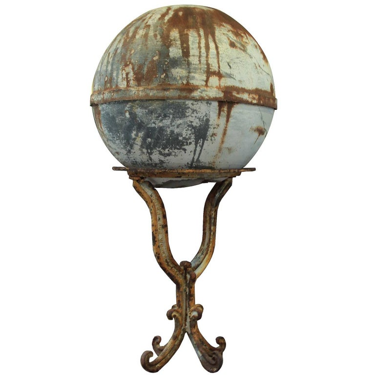 Antique Metal Buoy