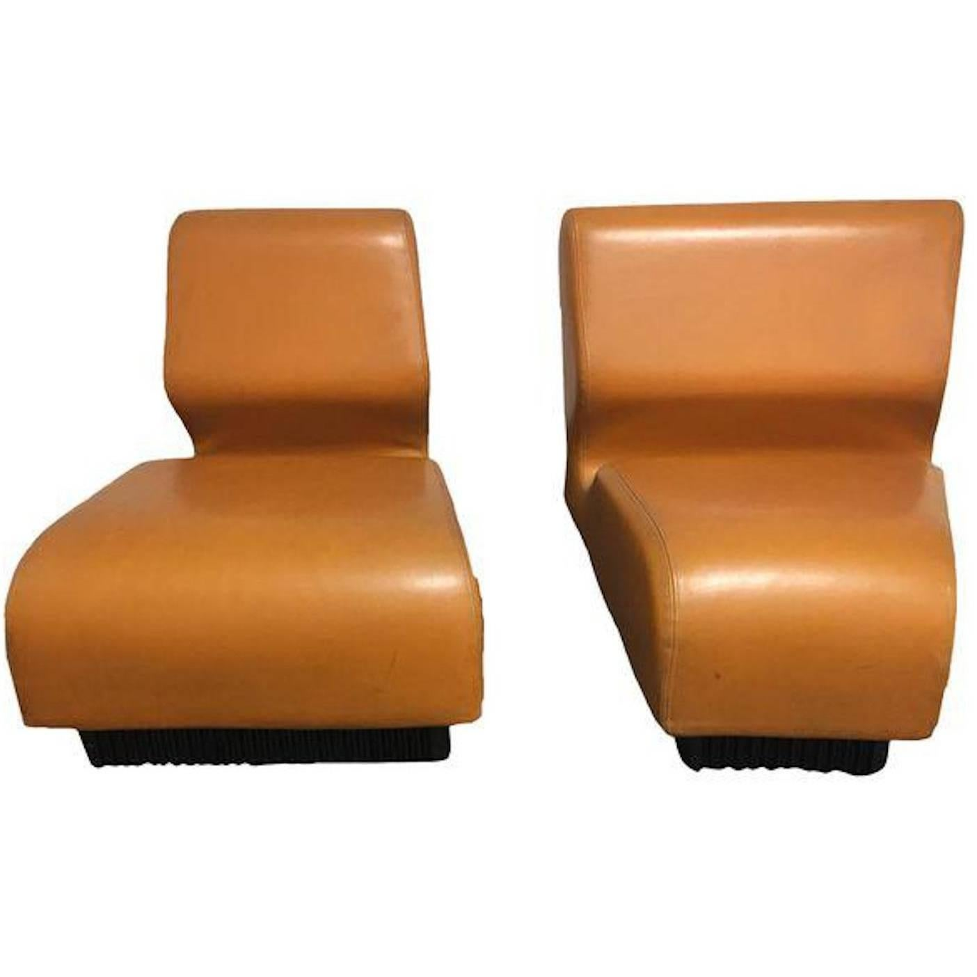 Awesome Pair Of Herman Miller Don Chadwick Modular Chairs At 1stdibs