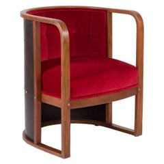 Josef Hoffmann Barrel Chair #421
