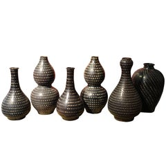 Pin Dotted Vases, China, Contemporary
