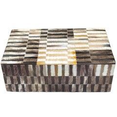 Patchwork Design Box, Indonesia, Contemporary