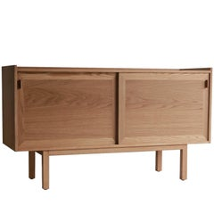NK Collection White Oak Purist Credenza