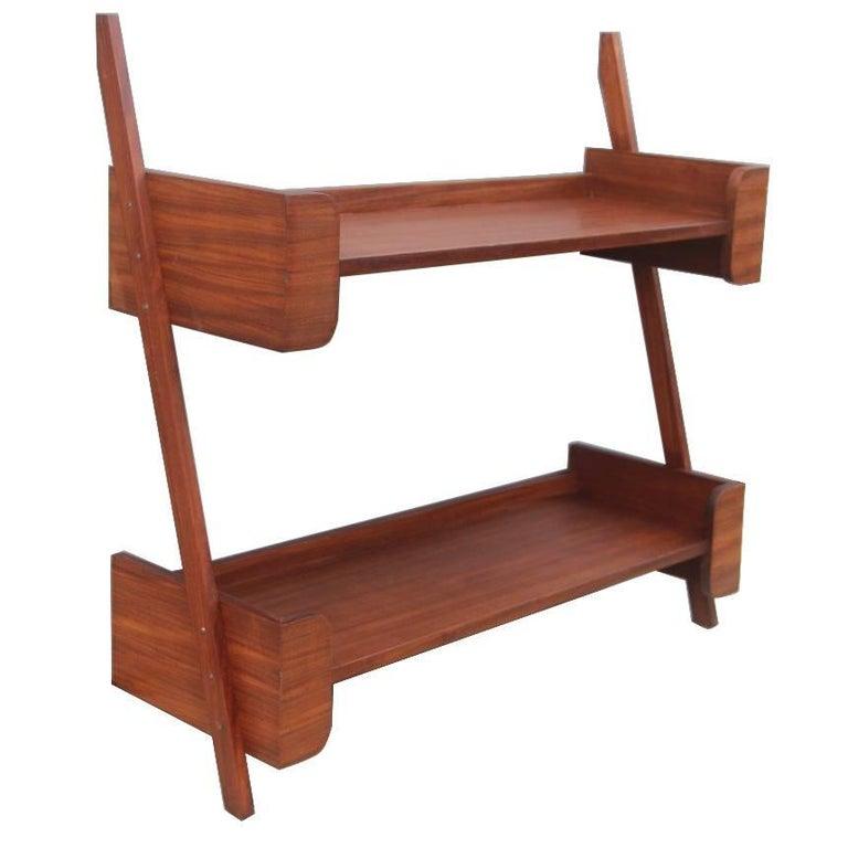 Diagonal Shelves Midcentury Italian Design For Sale At 1stdibs
