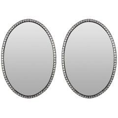 Pair of Large Irish Mirrors