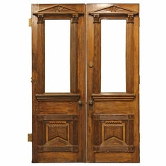 Architectural Style Victorian Double Doors