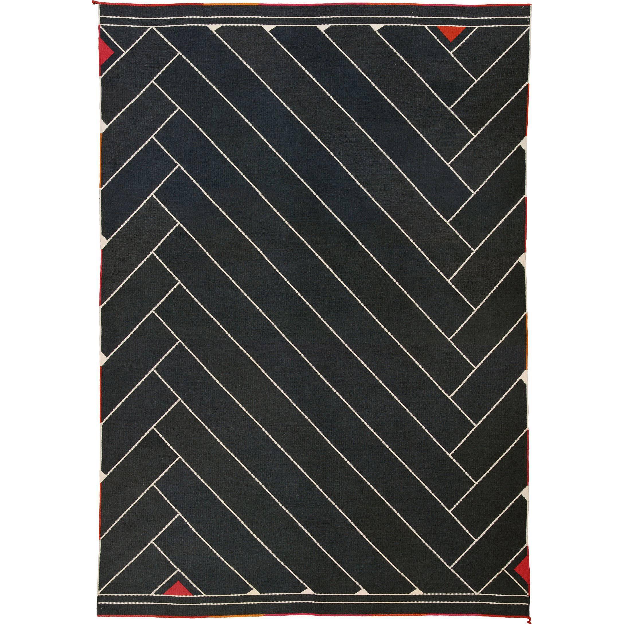 "Vintage Danish Carpet by Vibeke Klint, ""Lynild"""