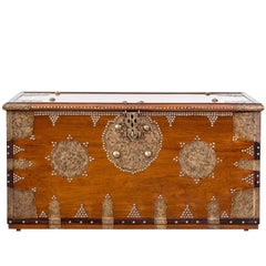 Teakwood Arab Chest or Bombay Chest