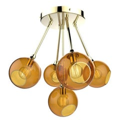 Brass Chandeliers and Pendants