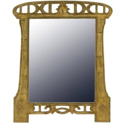 Early 20th Century Art Nouveau Mirror