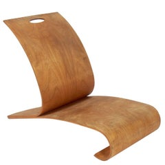 Curvaceous Bentwood Lounge Chair