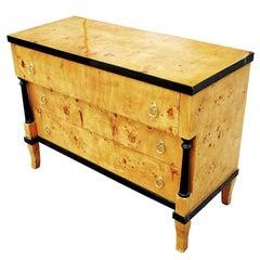 Burled Wood Art Deco Style Dresser