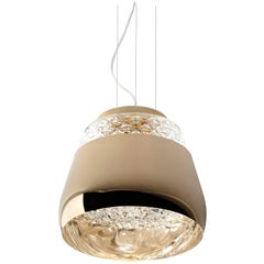 Moooi Valentine Large Suspension Fixture in Black, White, Gold or Chrome